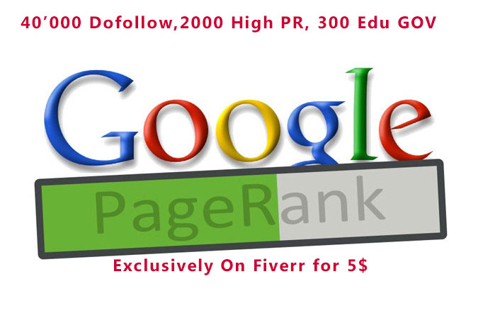 give you one month full seo with 40000+ dofollow, 2000+ high pr, 300+ edu gov backlinks With VPS scrapebox