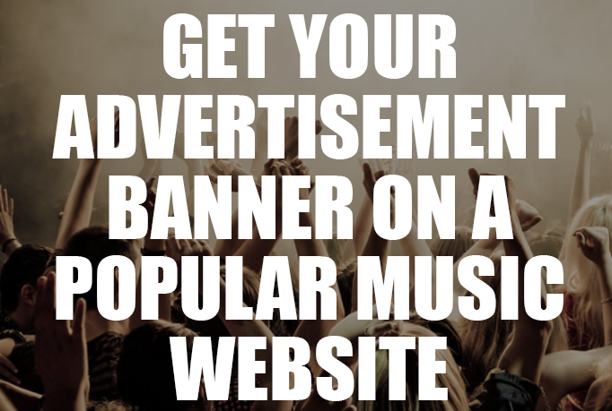 get your hip hop banner placed and advertised on a POPULAR hip hop site