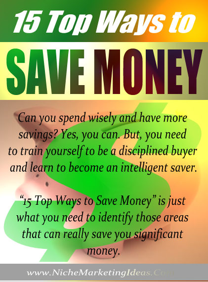 Send You The Ebook 15-Top-Ways-To-Save-Money