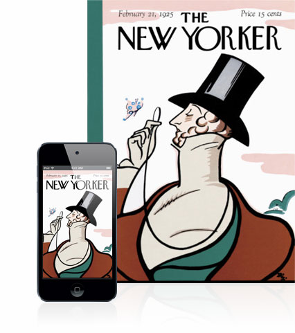 get you a 1 year subscription to The New Yorker