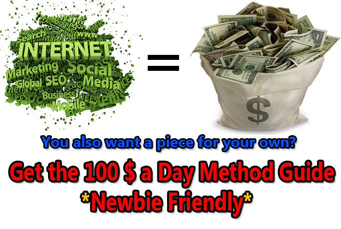give away my 100 Dollar-A-Day-Method