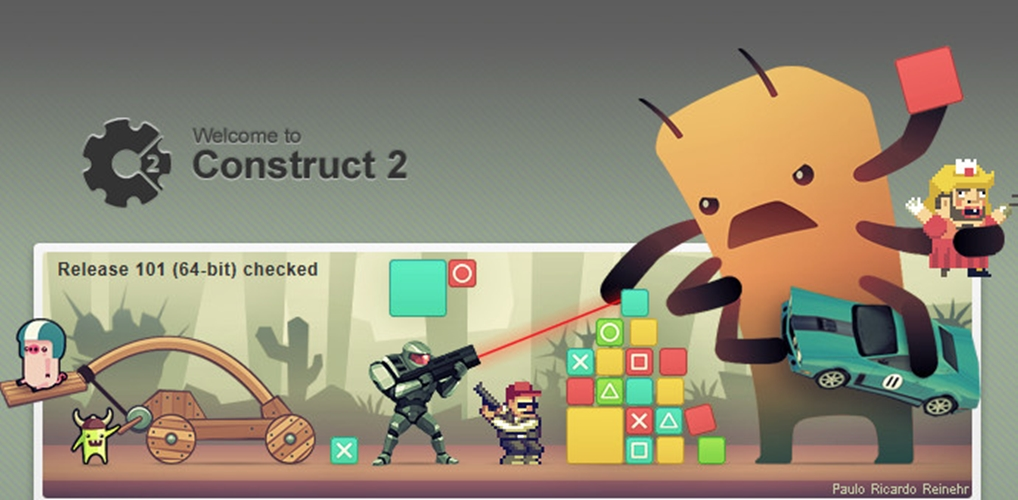 make you small 2d game