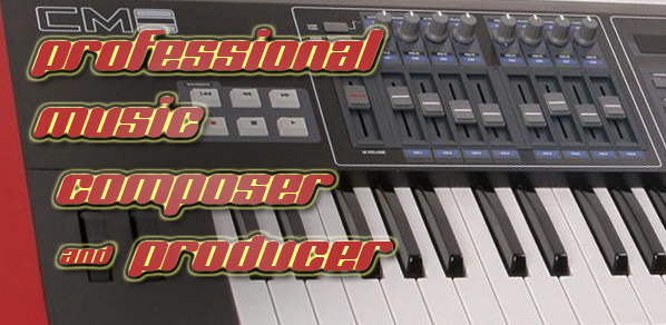 compose a music track, mix it and master it