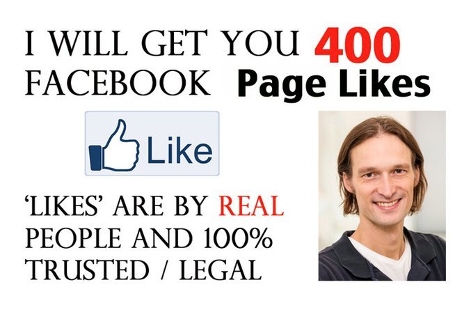 get you 400 Facebook Page Likes