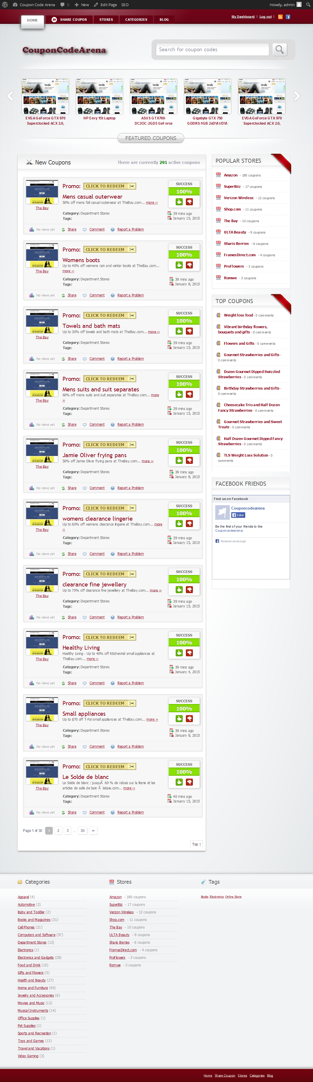 Build a Automated Coupons and Deals Affiliate Websie