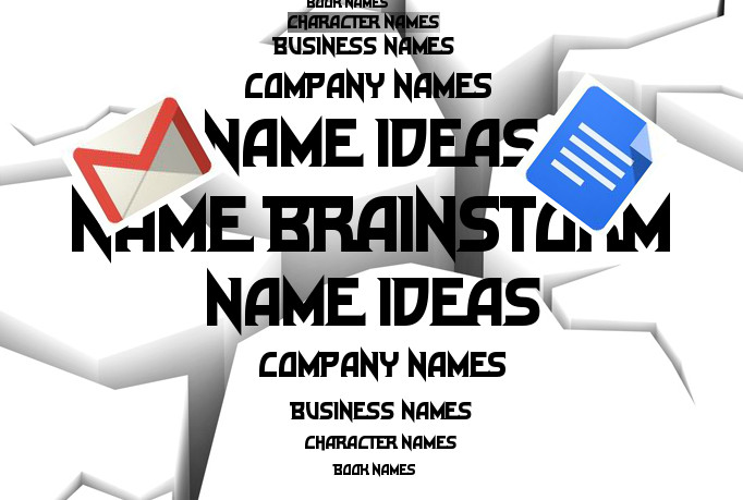brainstorm 15 Business names, Company names, Domains, Book Titles and more