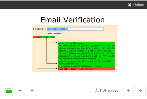 do email verification for 2000 emails