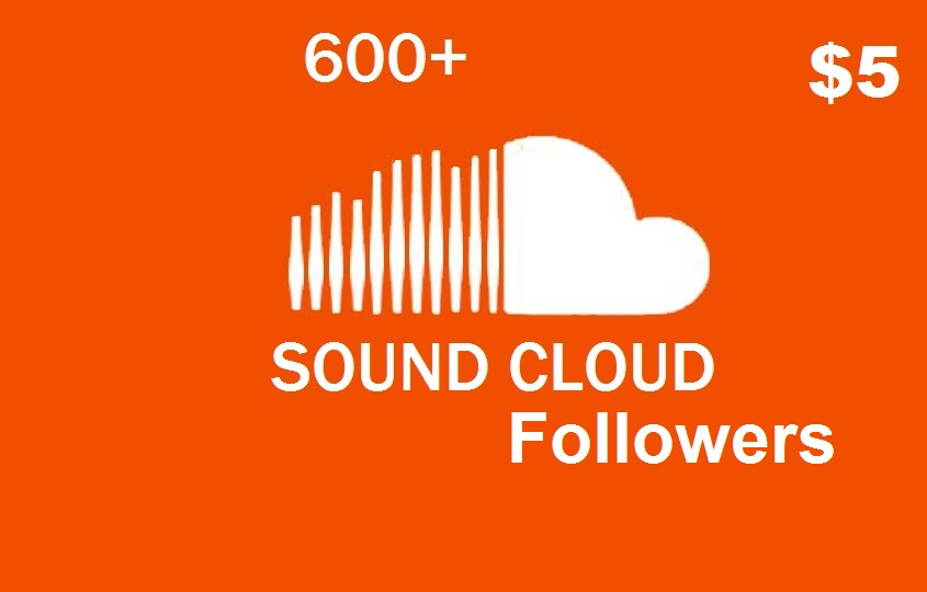 give you 600 Sound Cloud followers