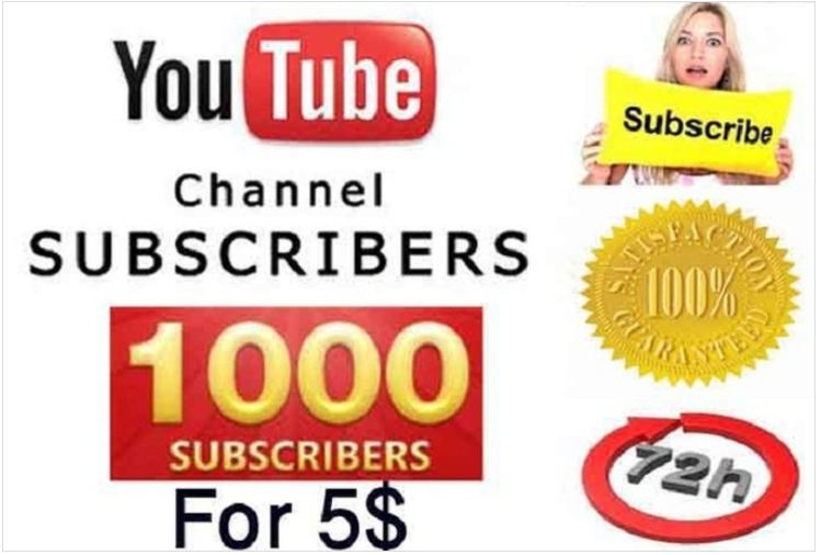 give you 1000 guaranteed YouTube subscribers