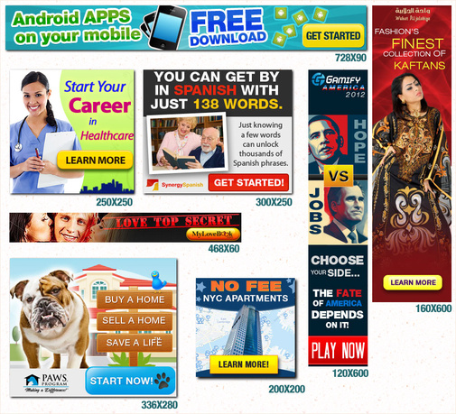 show you list for make Money with Ad Services