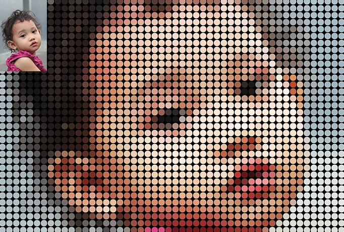 Make Your Photo Into An Awesome Mosaic