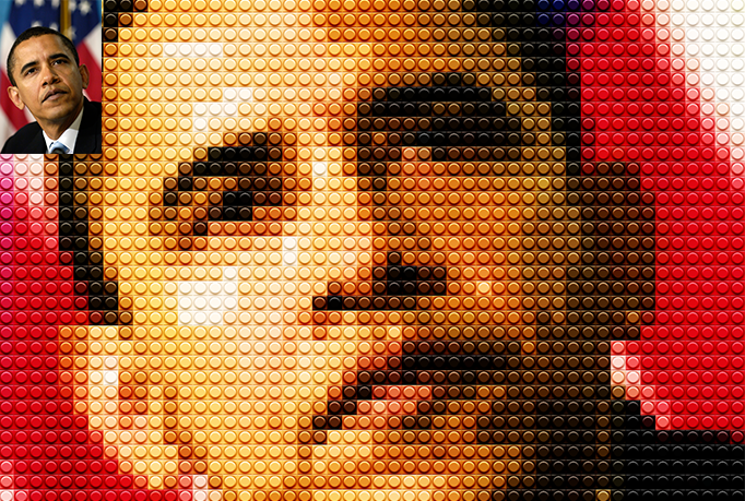 Make Your Photo Into An Awesome LEGO Mosaic
