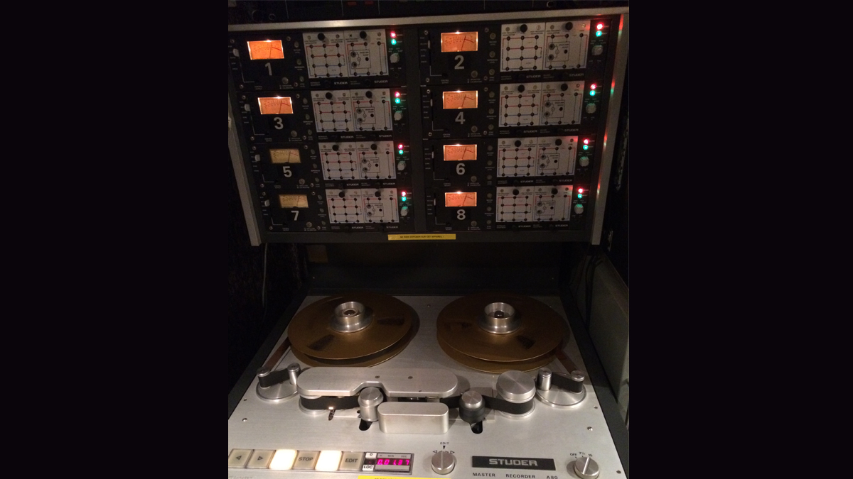 Print your audio track on one of my vintage tape recorders