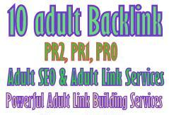 sale a powerful Adult Link Building services