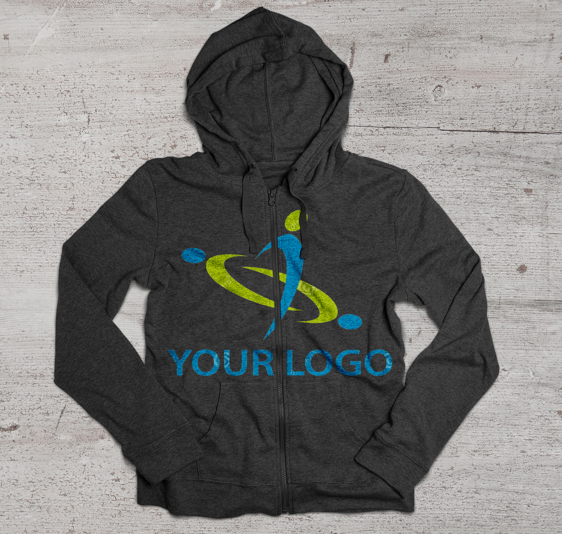 paint your logo in Hoodie
