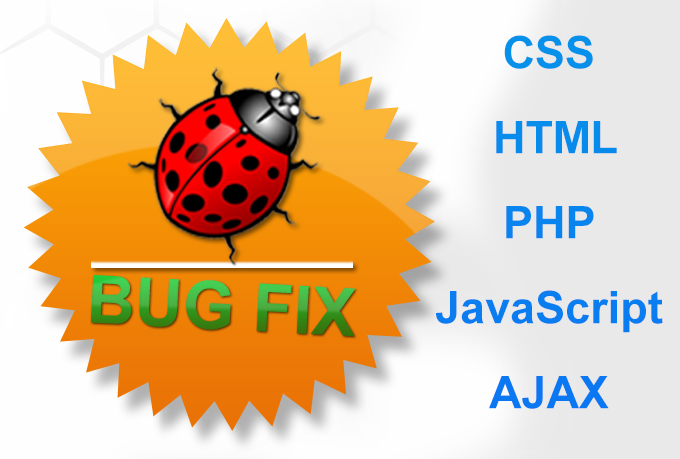 fix any kind PHP or html errors