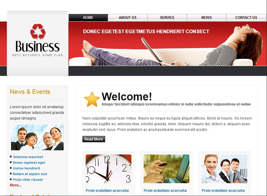 create a very simple and userfriendly website