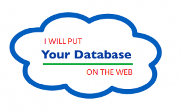 put your database on the web