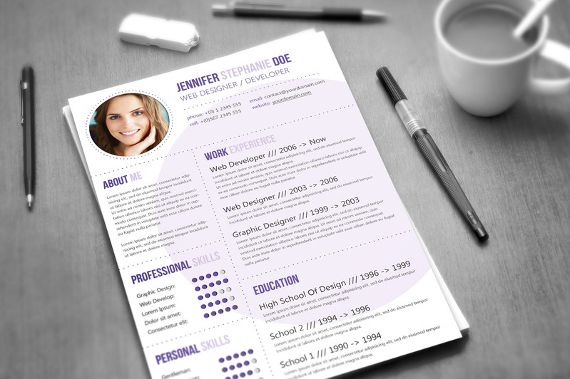 create professional CV or Resume for you
