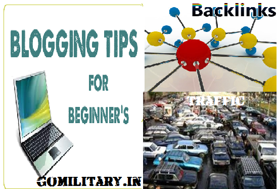 give you blogging + getting traffic + quality backlinks killer working tips