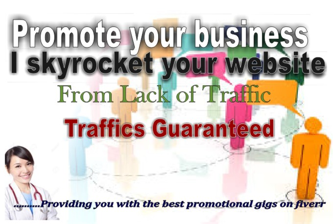 skyrocket your website from lack of TRAFFIC