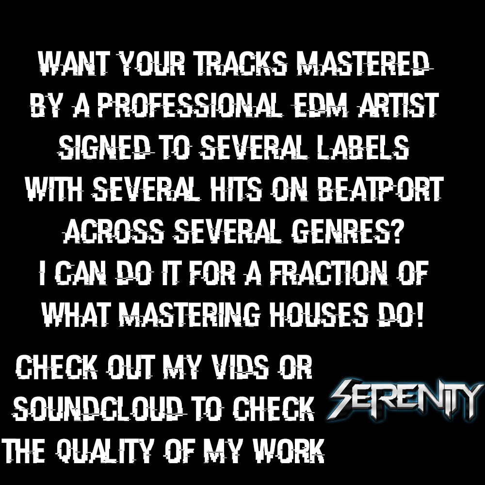 Master your EDM track (from a signed artist on Beatport) in one day!