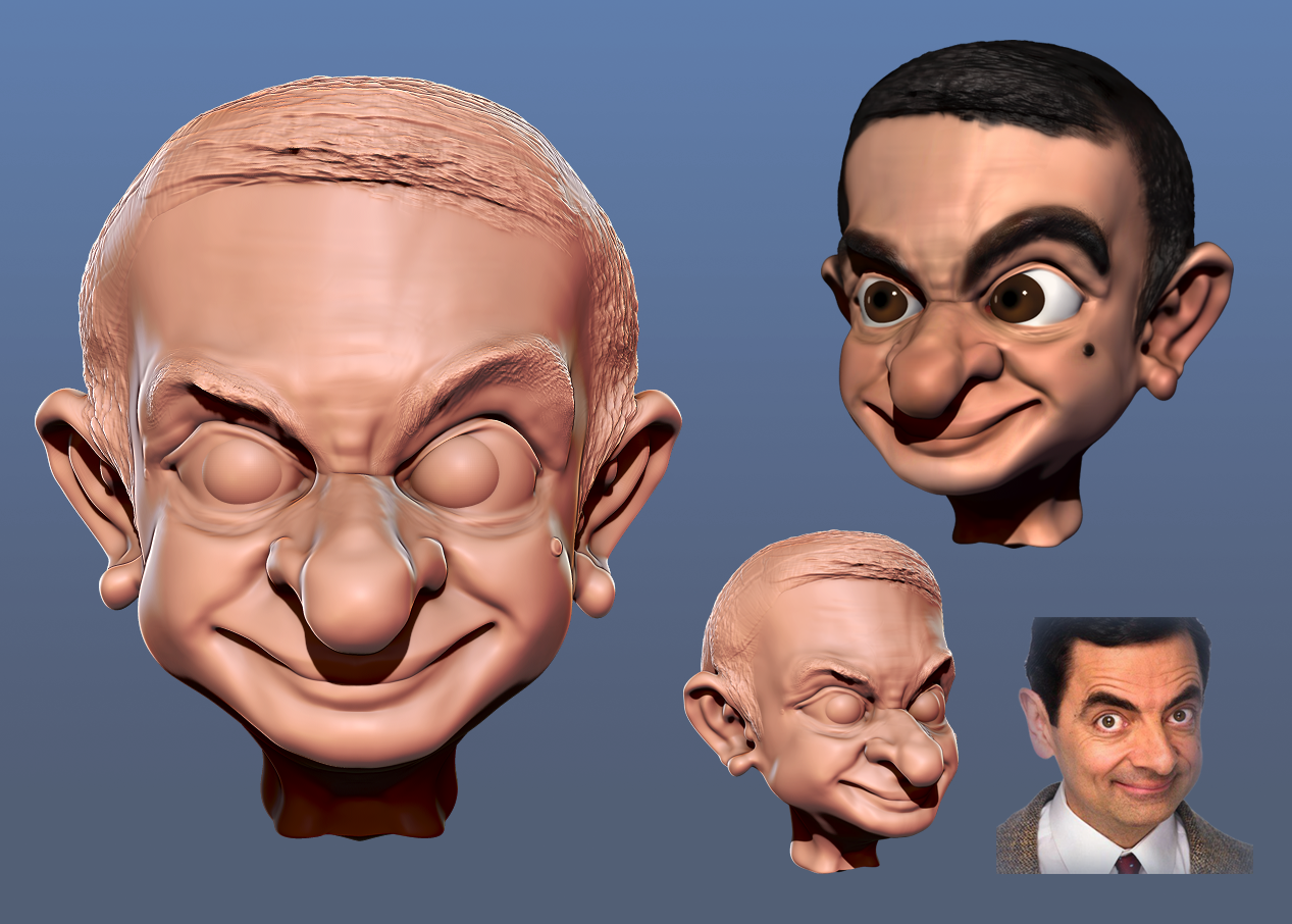 Do your 3d caricature head