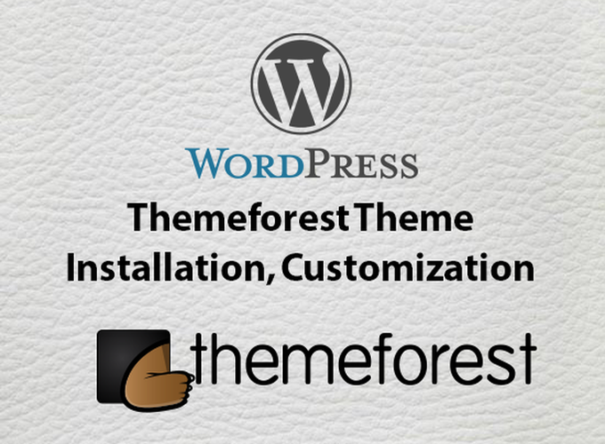 Insatll and customize any kind of themeforest WordPress theme look like the demo