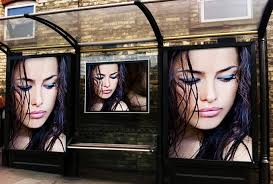 put photo or logo on 25 BILLBOARDS city poster