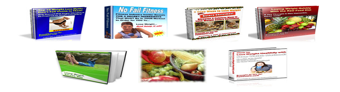 send you 7 Health & Fitness Ebooks