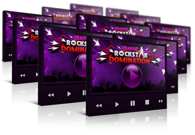 provide you with the traffic rockstar domination videos