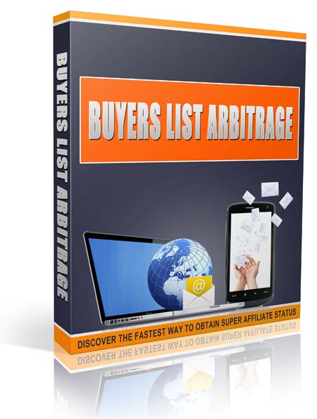 provide you with buyers list arbitrage secrets of affiliate marketers