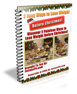 give you 2 Easy Ways To Lose Weight Before Christmas