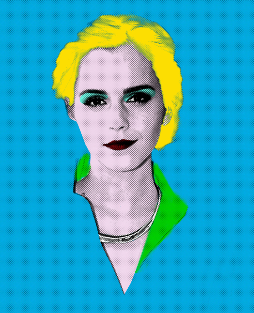 create a PROFESSIONAL pop art portrait