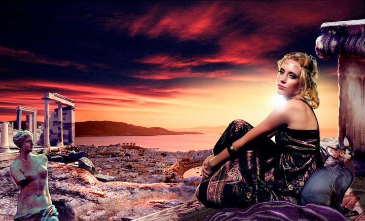 transform your boring photo into a fantasy art work