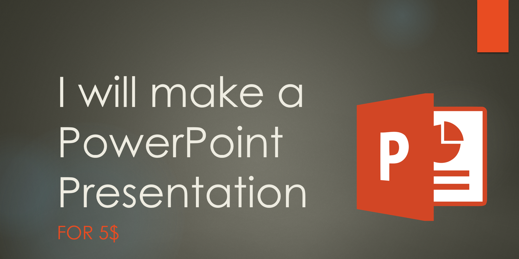 make a goodlooking PowerPoint Presentation