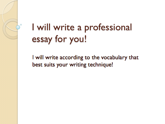 guarantee you will RECEIVE a proper essay