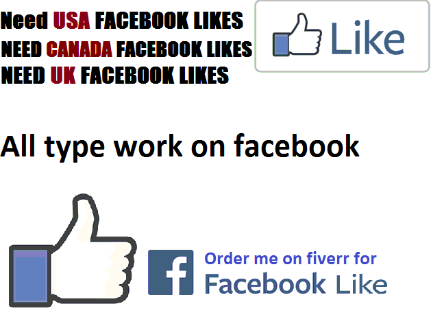 DO 60 CANADA, USA AND UK FACEBOOK LIKES