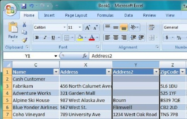 do any all type entry work with excel for
