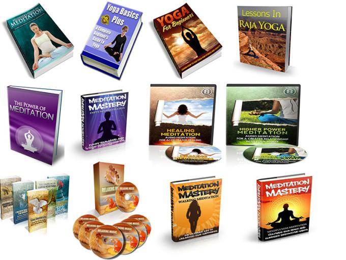give you 29 yoga meditation ebooks