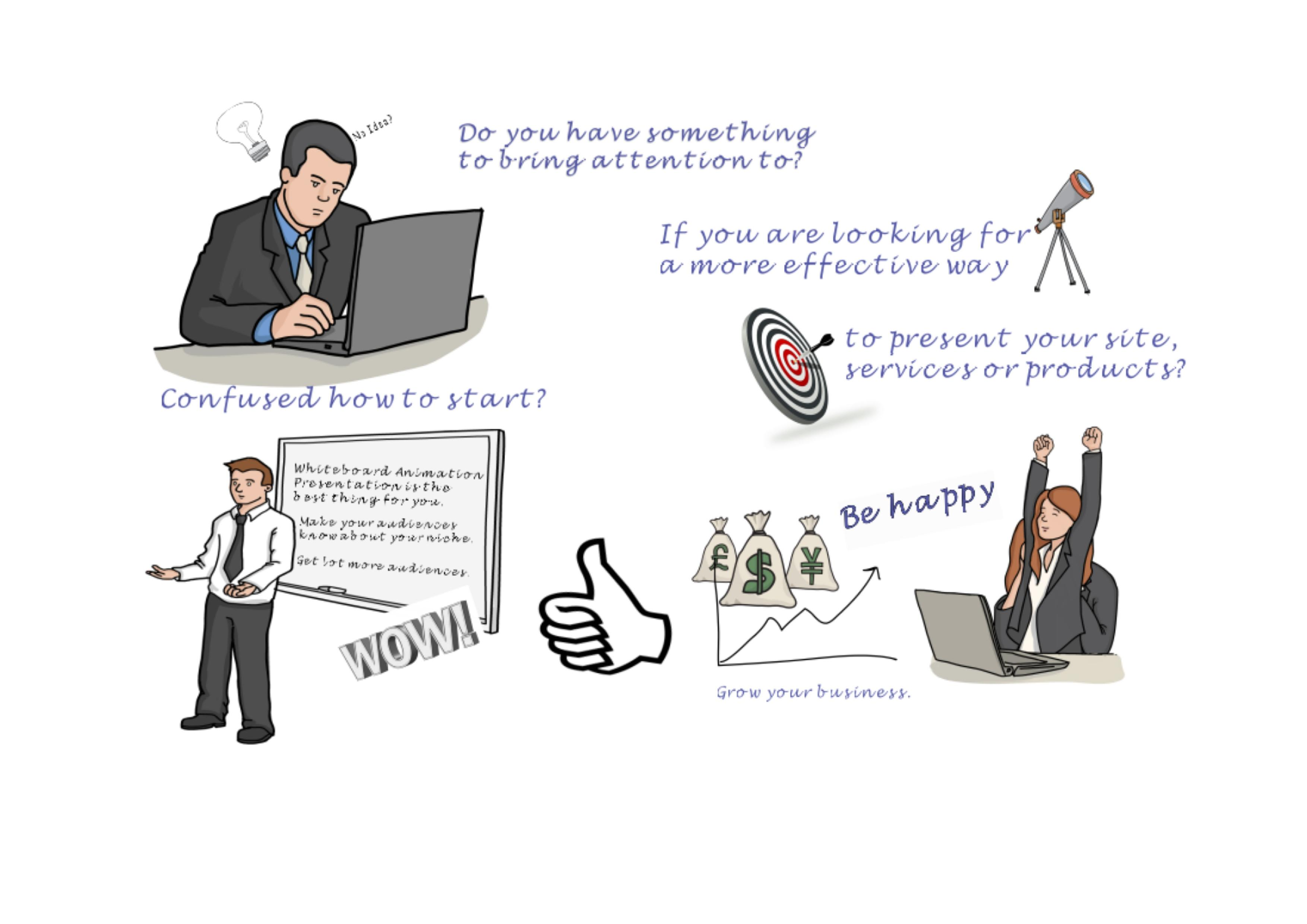 create a powerful whiteboard animation presentation