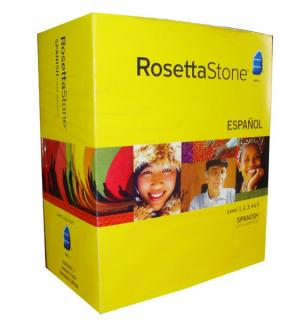 give a Rosetta Stone (PC or MAC) language course