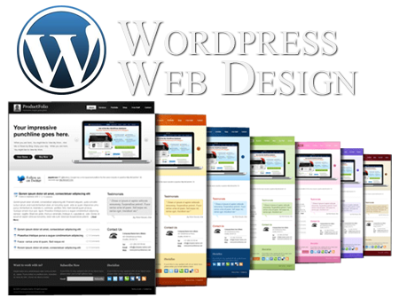 design WordPress, Joomla, Drupal templates