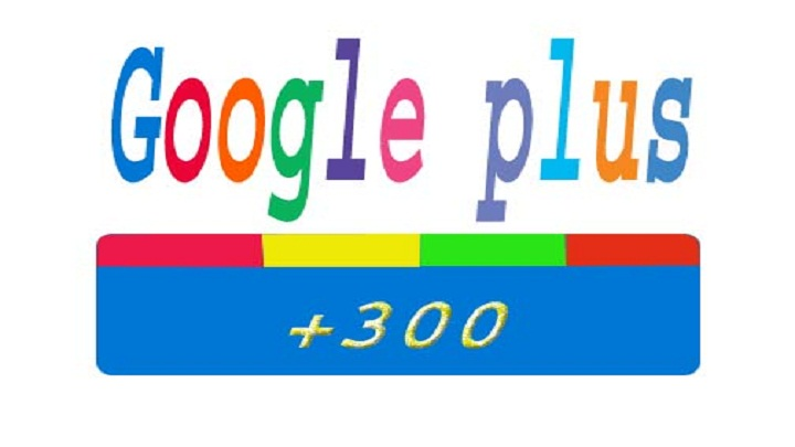 provide 300 google plus