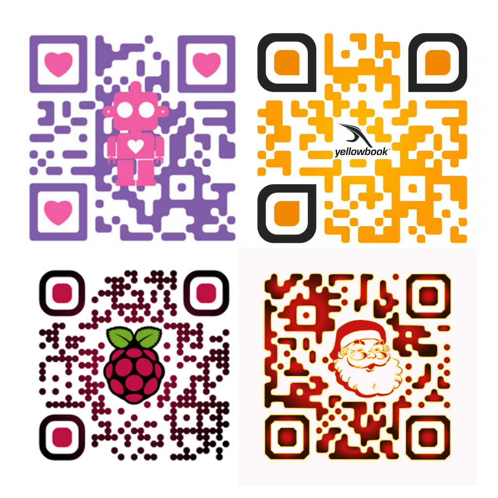 create a good looking unique QR code