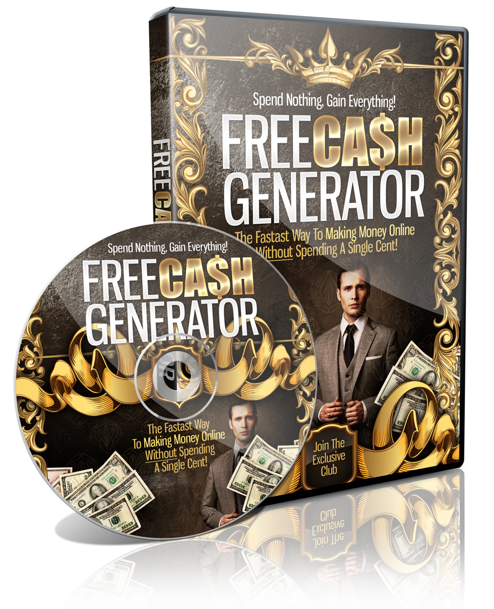 send you free cash generator video course