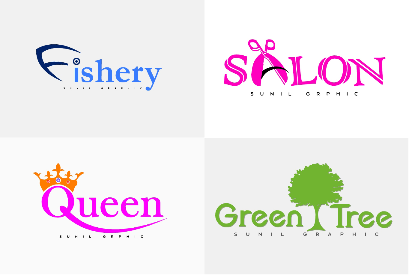 design 5 MAGNIFICENT logo