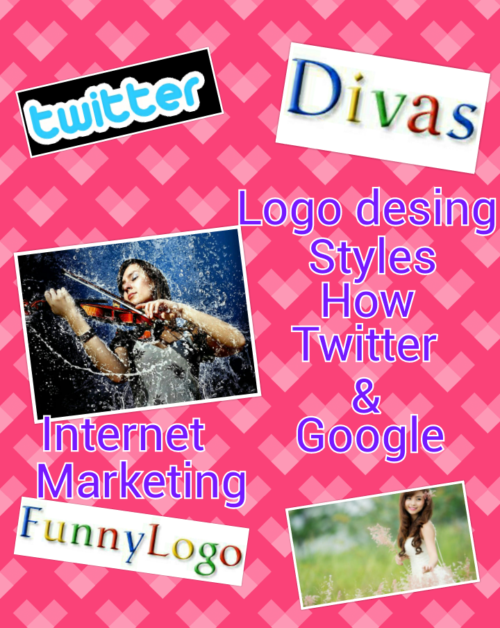 Do a logo desing style twitter or google