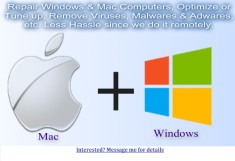 Repair Windows & Mac Computers Remotely