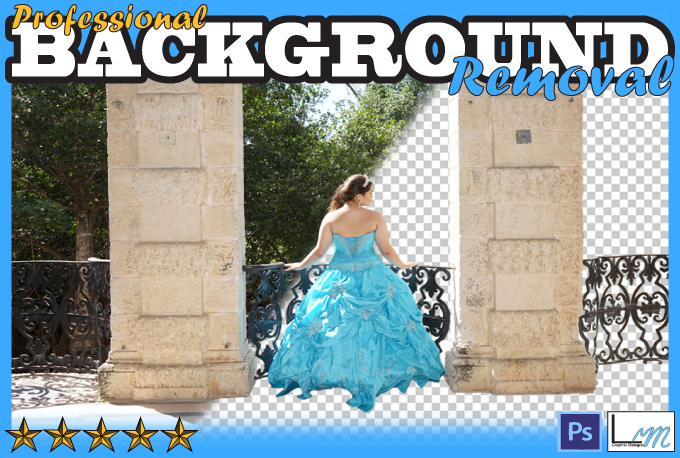 Create Quality background removal replacements and edits